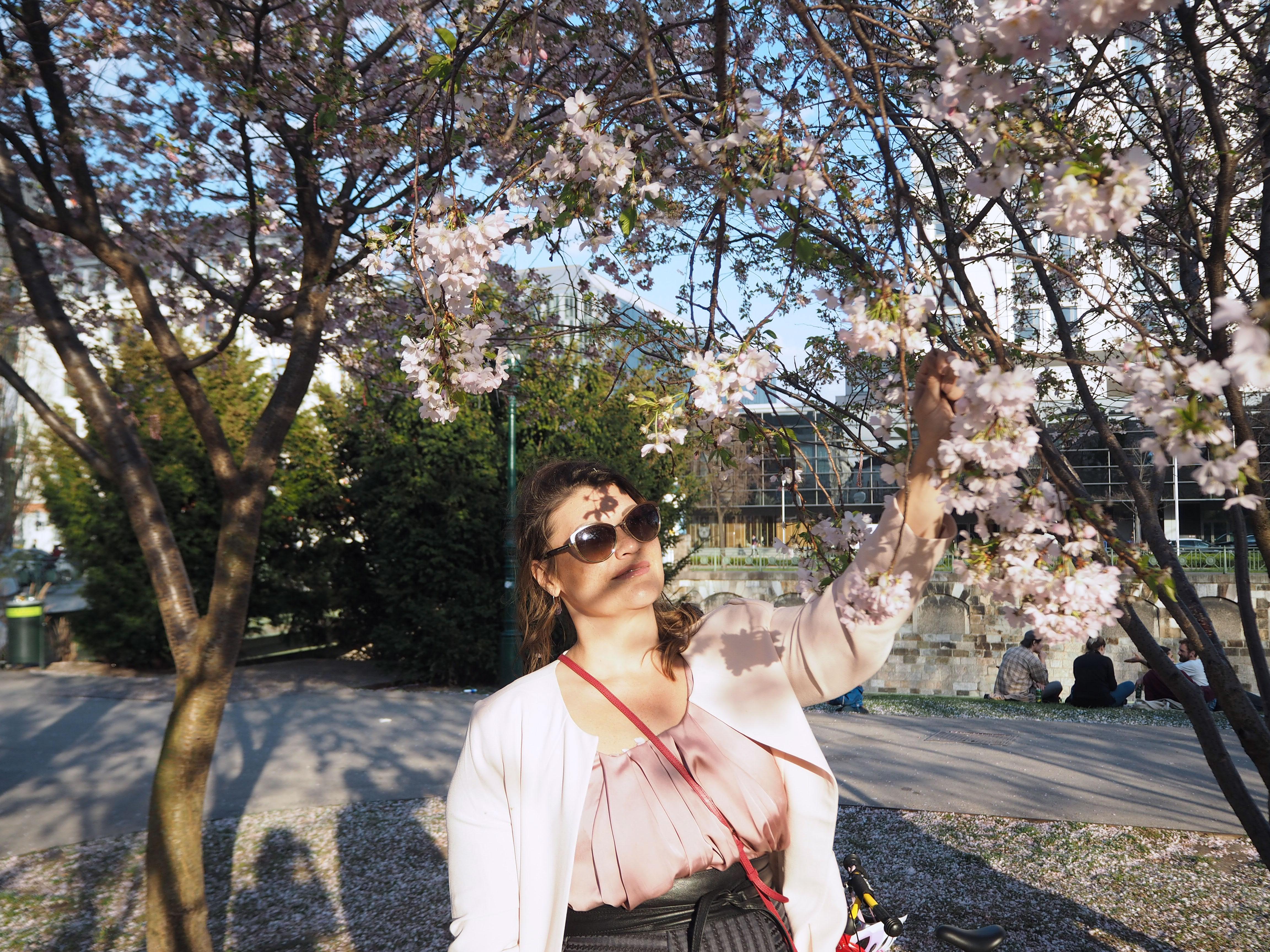cherry-blossom-sakura-spring-look-rosé-mantel-h&m-tellerrock-fashion-my-look-plus-size-blogger-kardiaserena-marc-jacobs-sonnenbrille