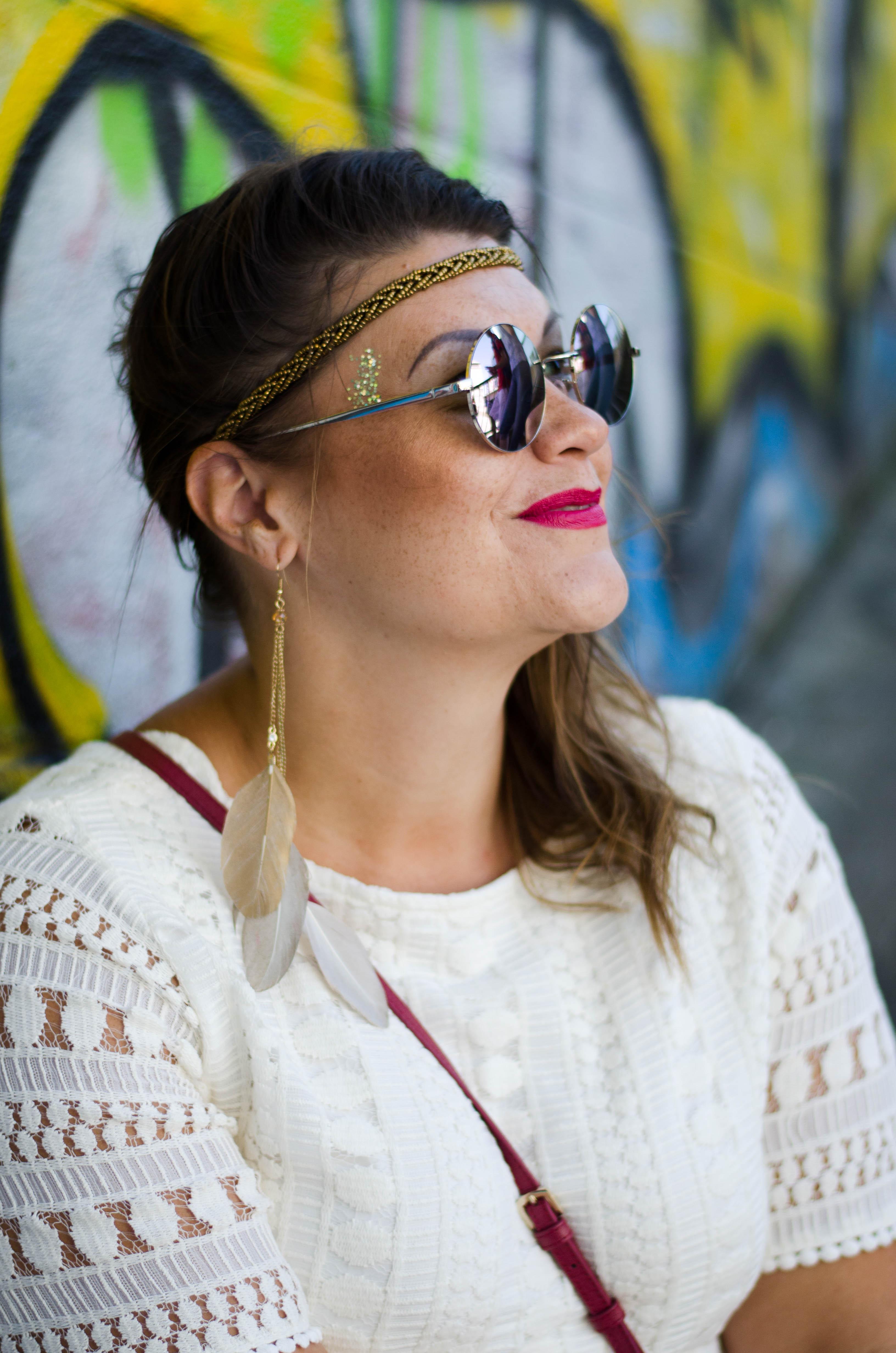 hippie style hippie girl grandios boutique boho spitzenkleid lace plussize fashion kardiaserena