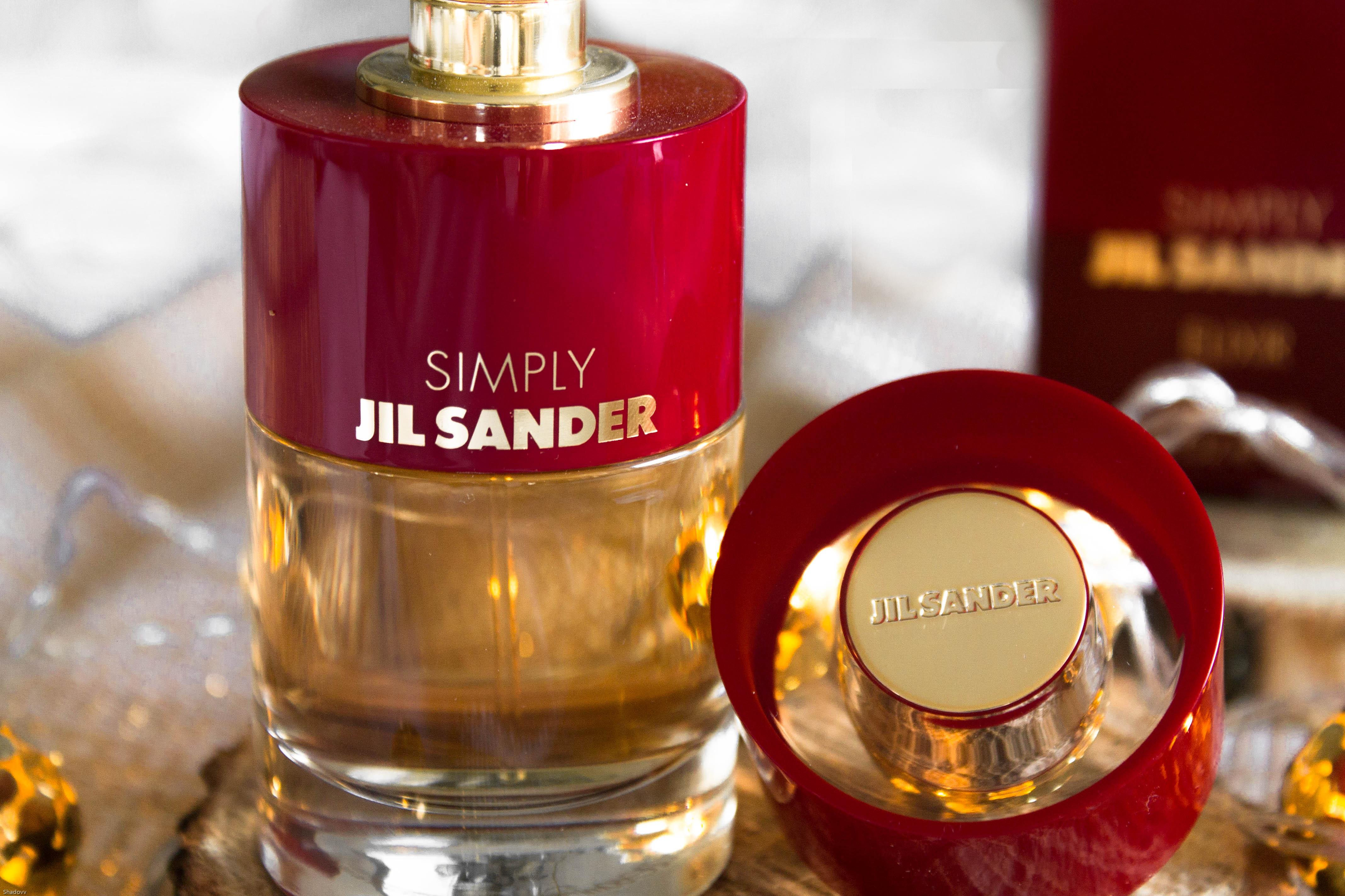 jil sander kardiaserena parfum simply gold red