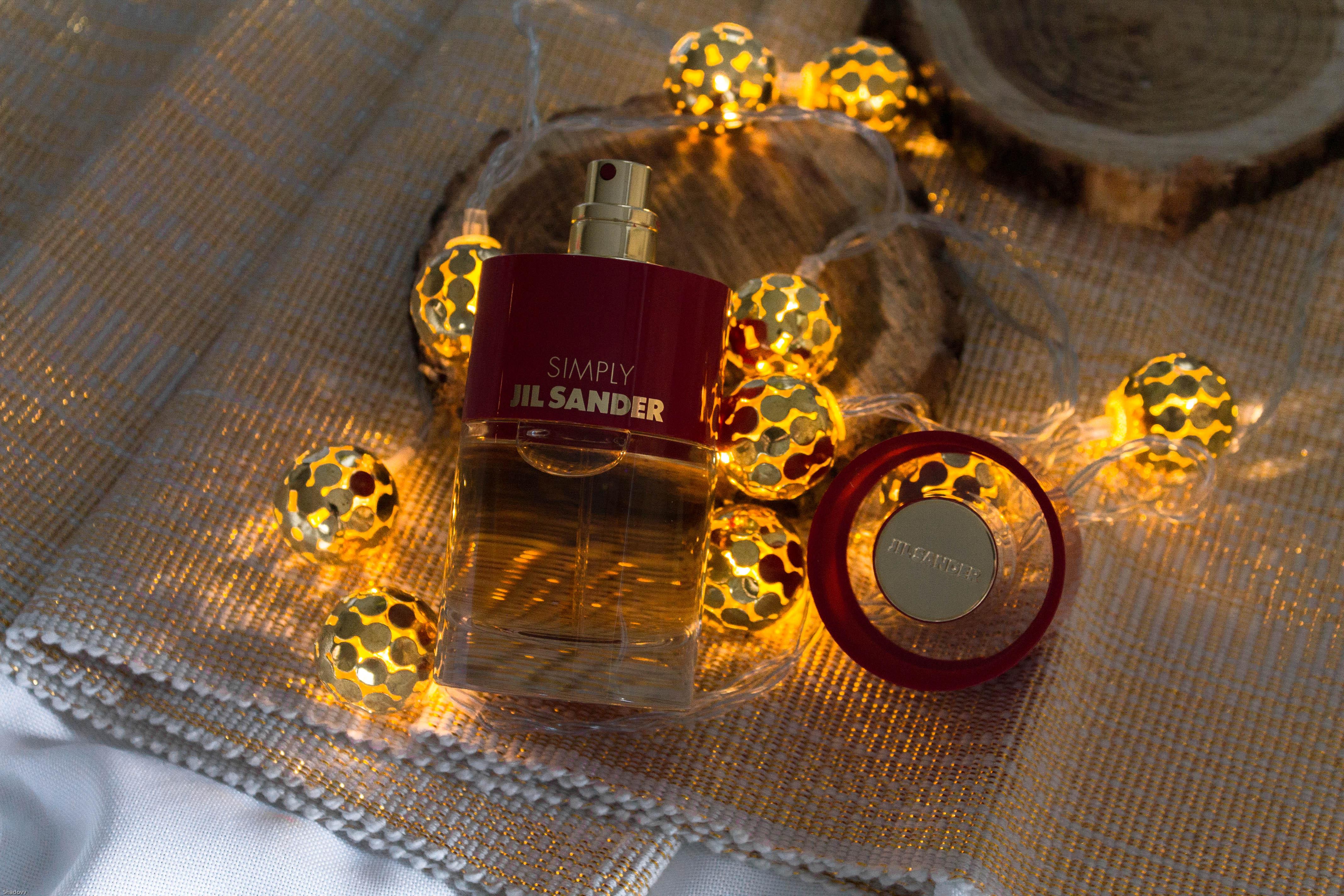 jil sander parfum simply kardiaserena gold red