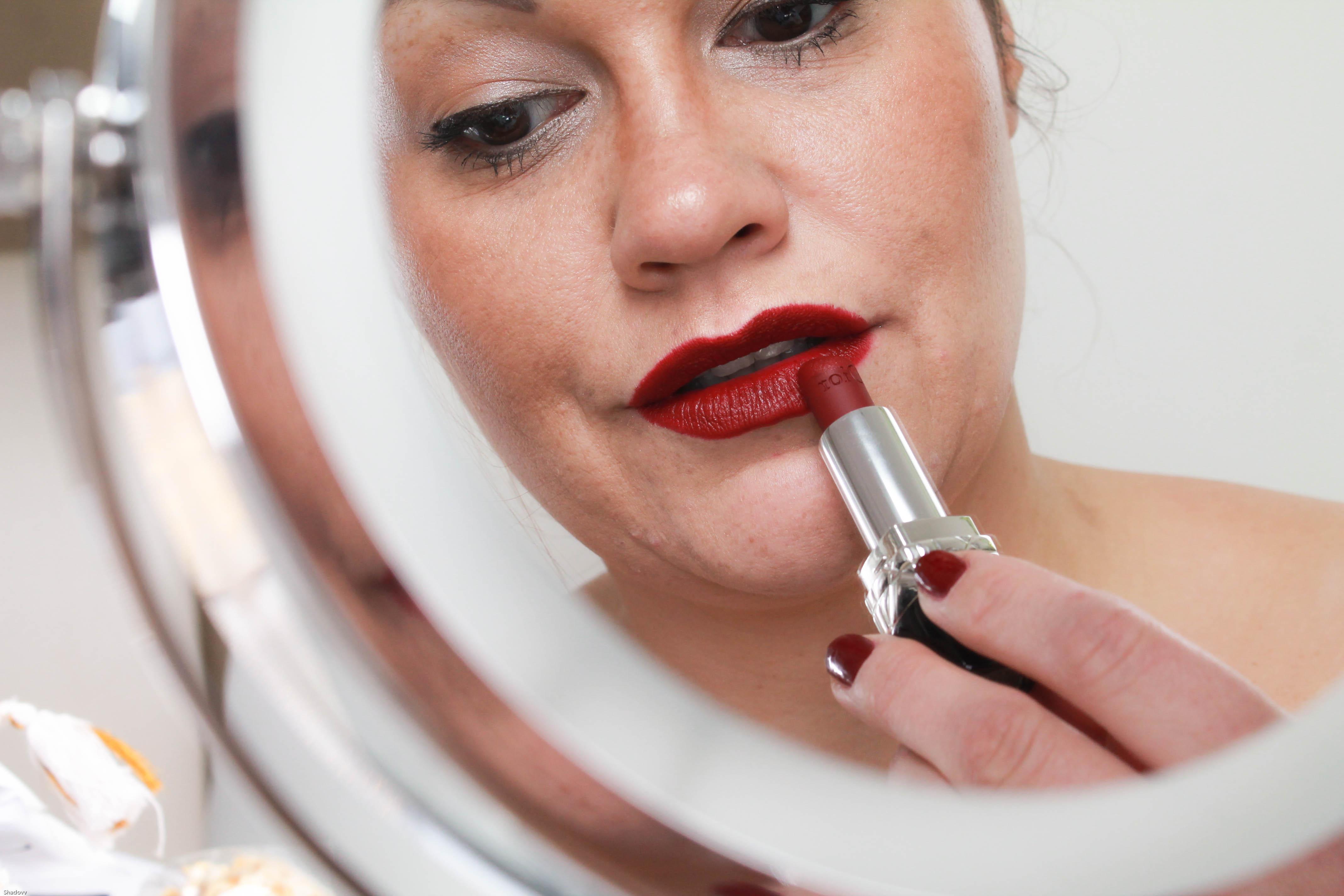 kardiaserena dior lippenstift dunkelrot