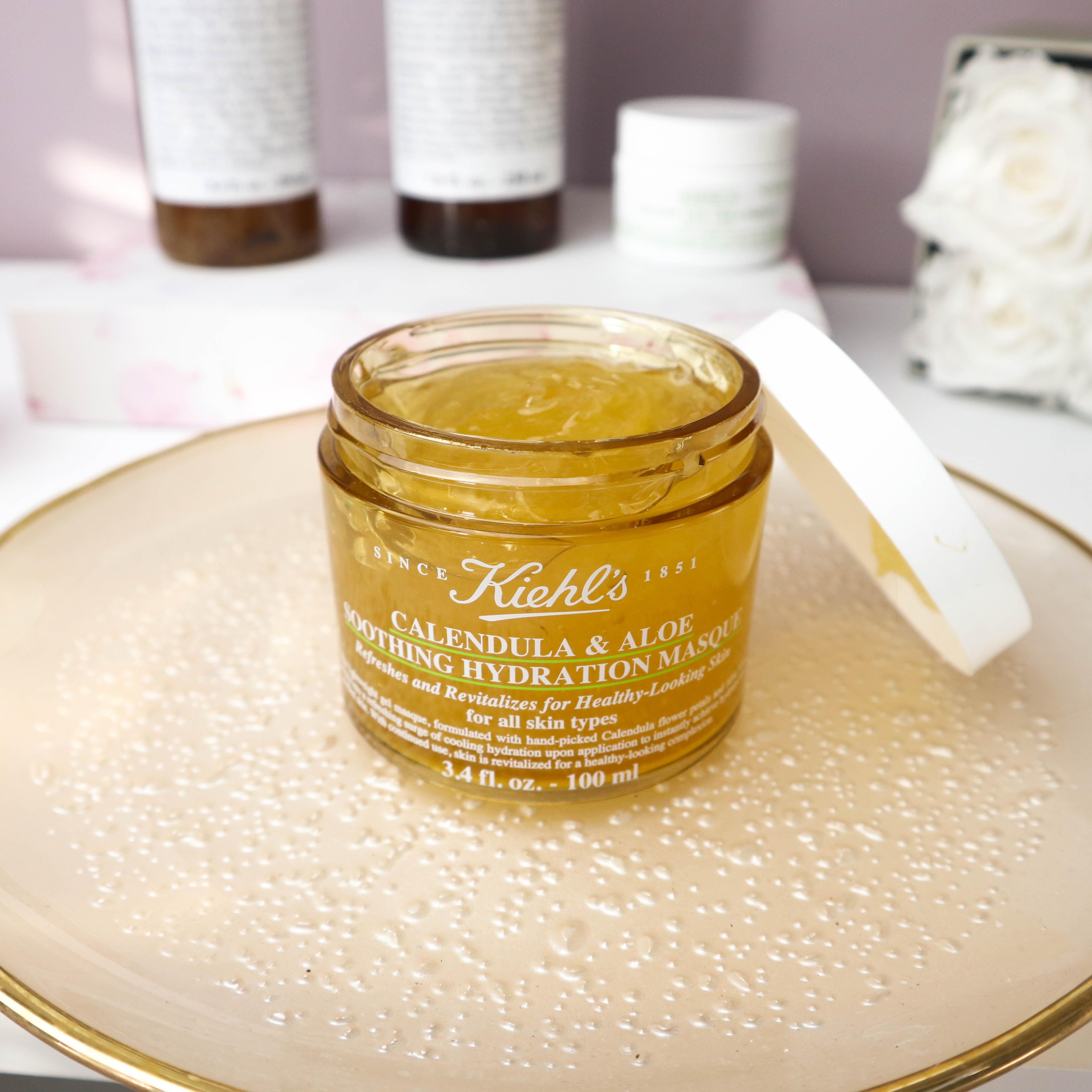 top 5 beauty brands lieblings beauty marken kiehl's calendula aloe masque kardiaserena