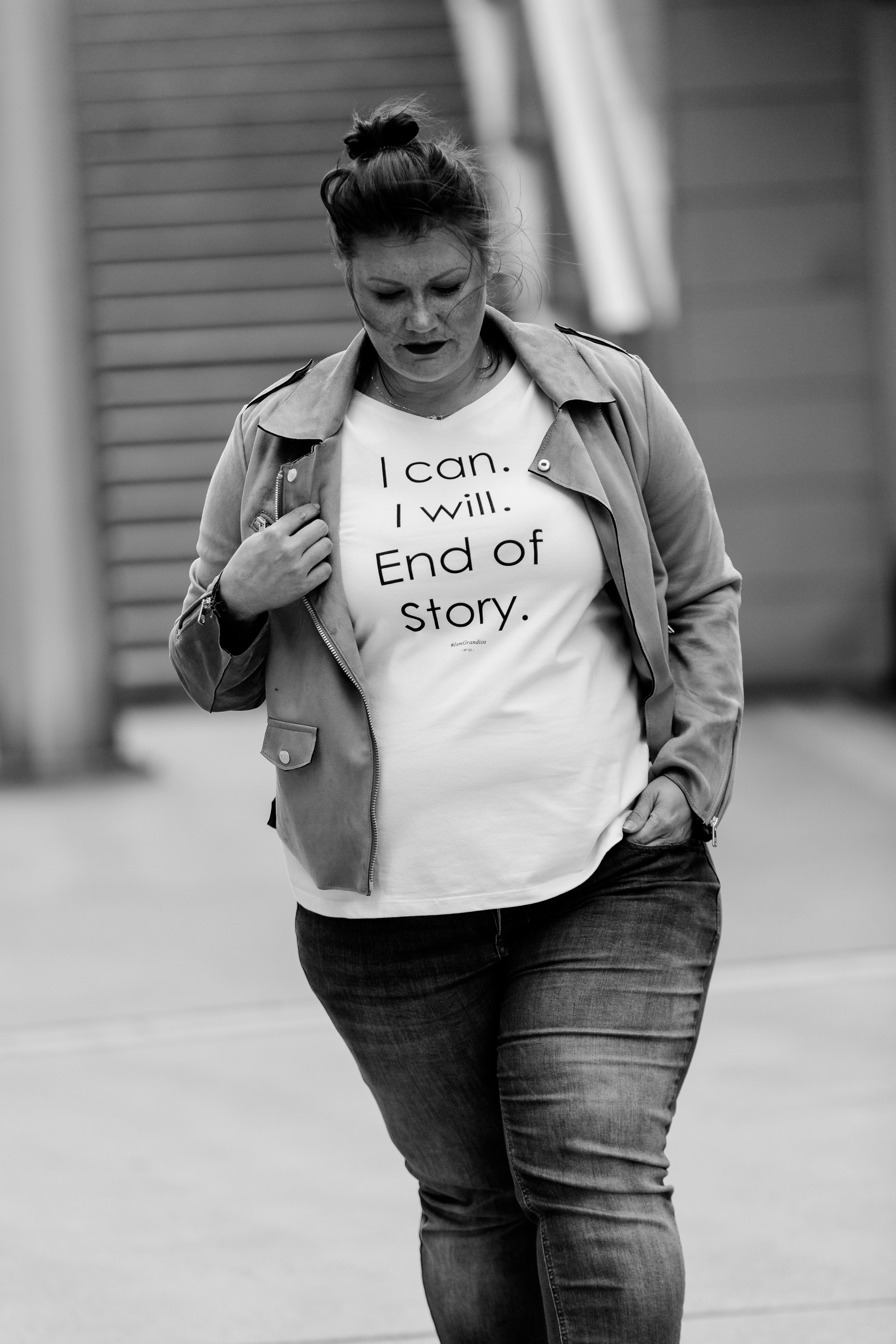 Signature Kollektion Statement T-Shirts I can. I will. End of story. Grandios Boutique kardiaserena