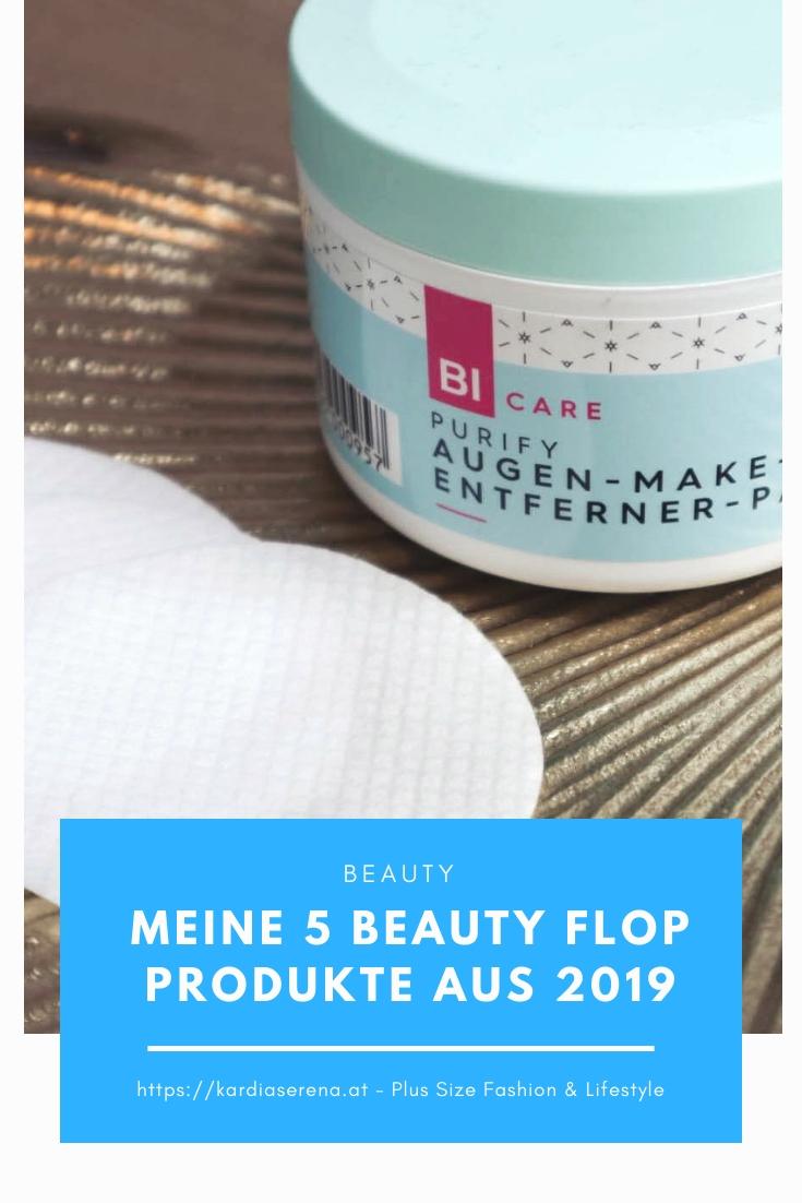 5 Beauty Flop Produkte 2019 BICare Purify Augen make-up Entferner Pads kardiaserena