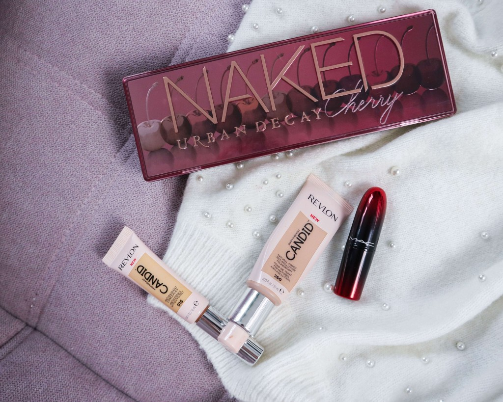 Naked Cherry Urban Decay kardiaserena Revlon Candid Foundation Concealer MAC
